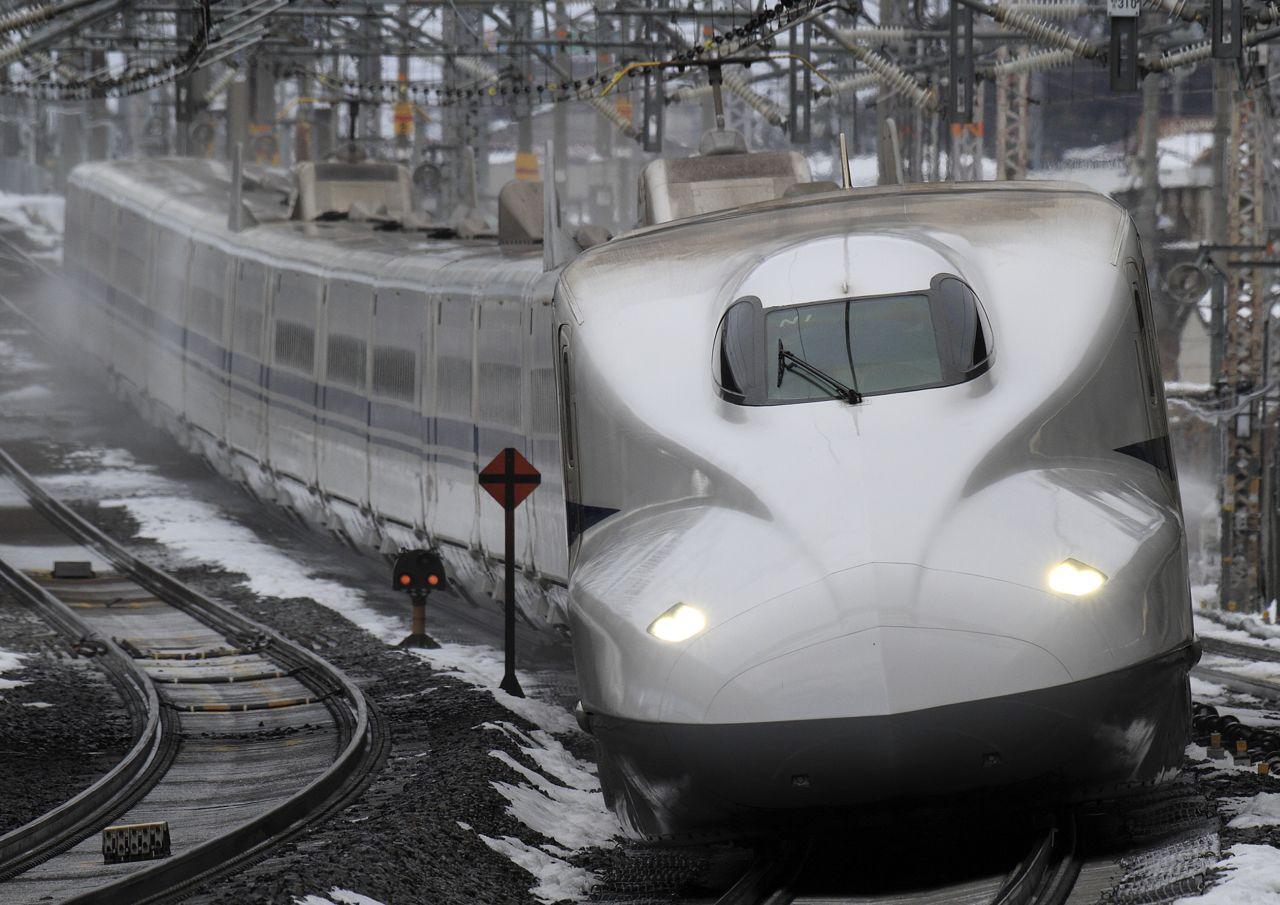 Sinkanszen N700 sorozat japán