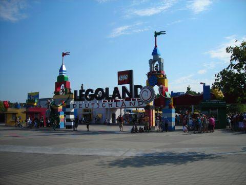 A Legoland bejárata