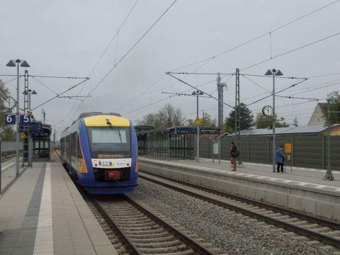 Oberau DB regionalzug