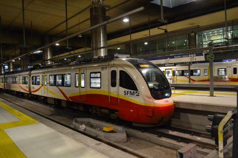 mallorca vasútja SFM 81 sorozatú motorvonat