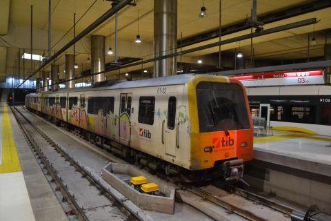 mallorca vasútja SFM 61 sorozatú motorvonat