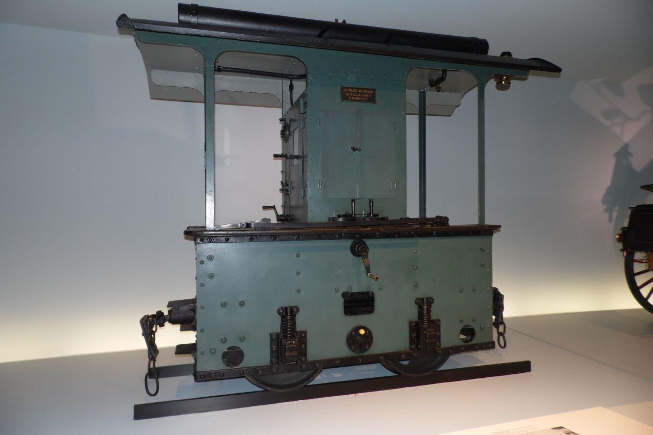mercedes múzeum mozdony