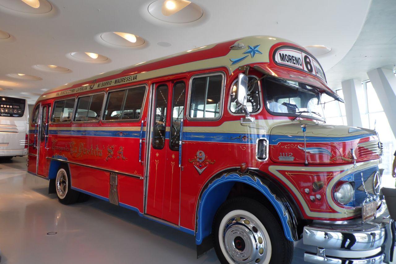 mercedes múzeum Mercedes-Benz LO 1112 autóbusz Buenos Aires