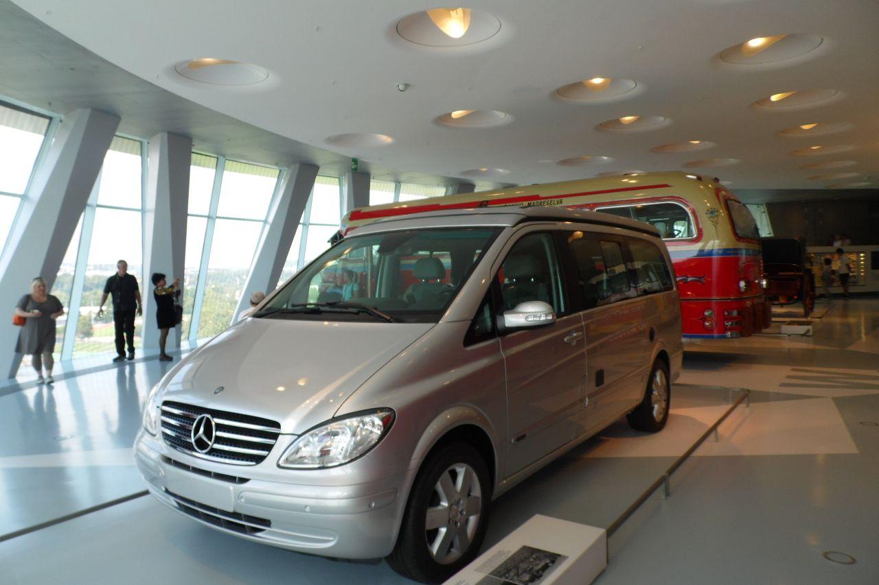 mercedes múzeum Mercedes Vito