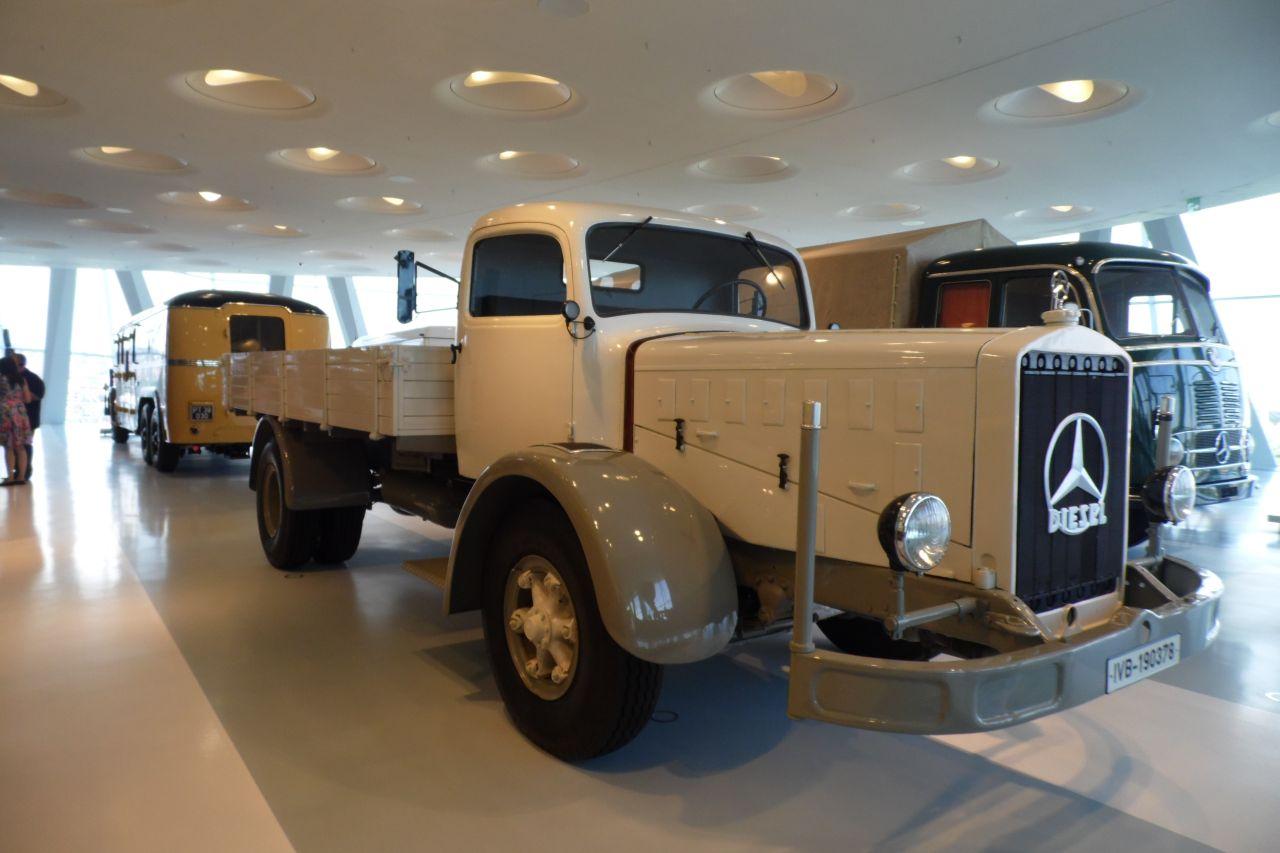 mercedes múzeum Mercedes Benz L6500