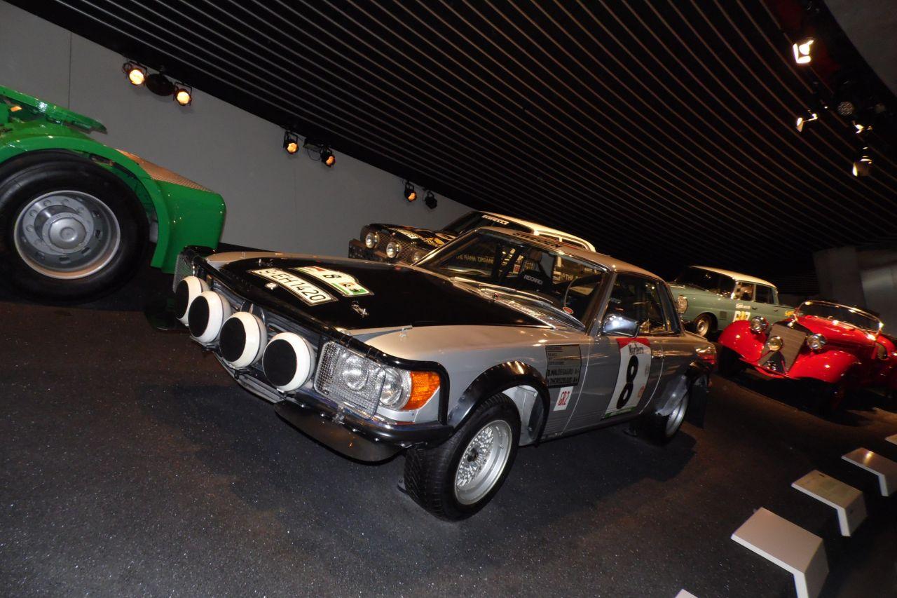 mercedes múzeum mercedes benz 500 SLC Rally 1979