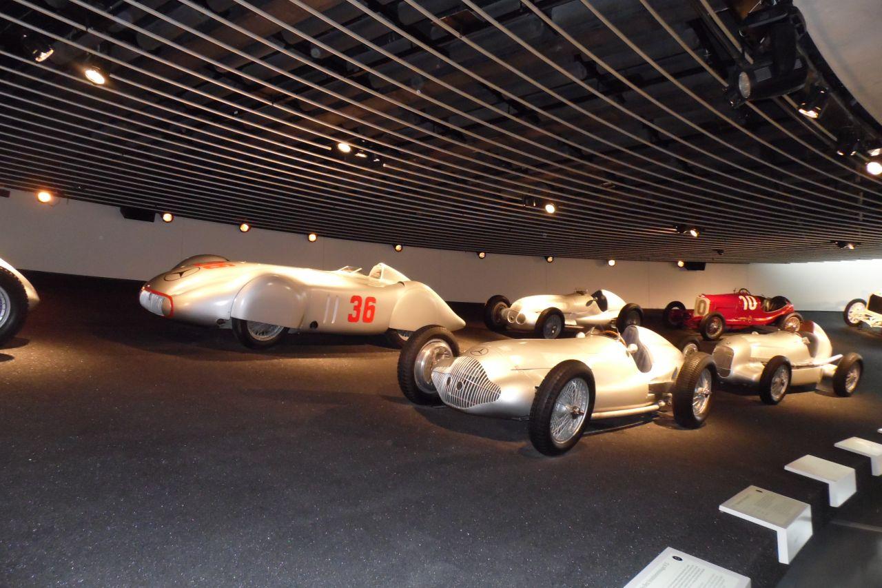 mercedes múzeum autósport