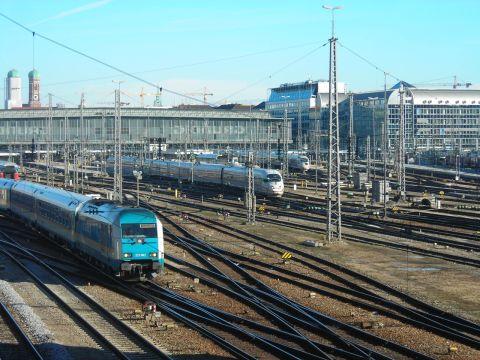 München Hauptbahnhof hackerbrücke