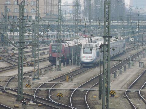 München hauptbahnhof tgv railjet hackerbrücke