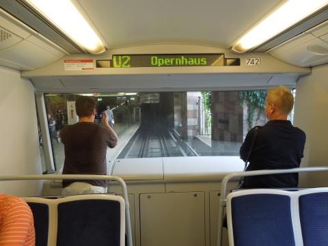 Nürnbergi vezetőnélküli metró