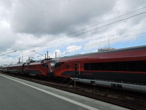 Railjet München Hauptbahnhof
