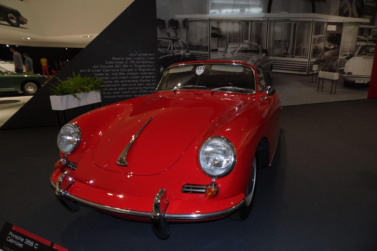 porsche 356 Cabrio múzeum