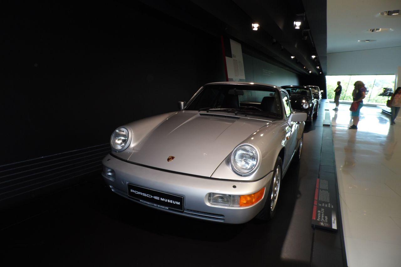 porsche 911 Carreara 4 múzeum