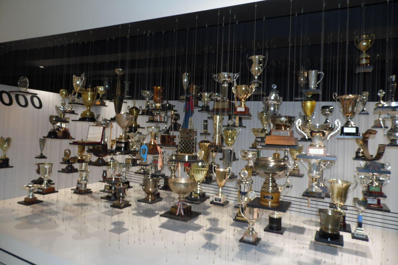díj trófea porsche múzeum