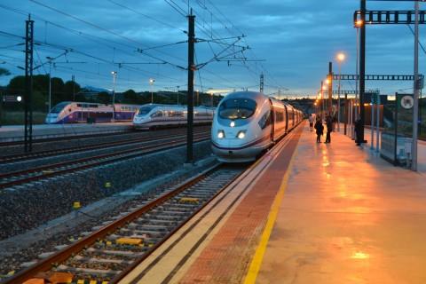 spanyol határ TGV AVE Figueres-Vilafant AVE 103
