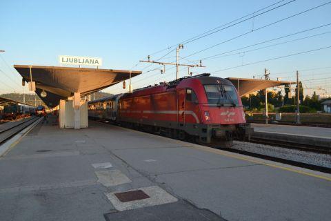 Ljubljana főpályaudvar taurus sz 541 sorozat