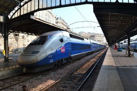 TGV Duplex Párizsban