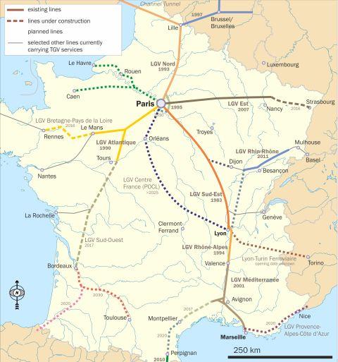 tgv map térkép 2030