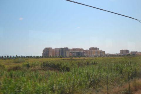 Mediterrán korridor, szálloda, tengerpart