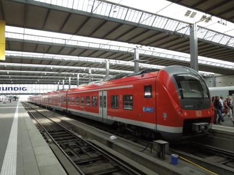DB 440 sorozat München Hauptbahnhof
