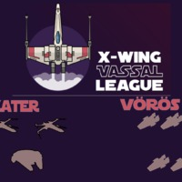 X-Wing VASSAL Liga S07E01 - Lando, Wedge, Thane vs 5 Rz-2 A-Wing