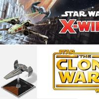 Klónok háborúja és előzmény trilógiás hajók az X-Wing Figurás játékban