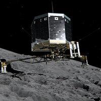 Landolás egy üstökösön