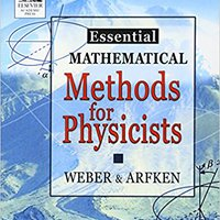 Essential Mathematical Methods For Physicists, ISE Books Pdf File