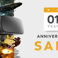 Kedvezményekkel ünnepli születésnapját az Oculus Rift