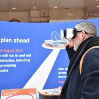 A londoniak VR-ben nézhetik meg milyen lesz a készülő új metróállomásuk