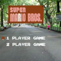 A kiterjesztett valóságban játszható a Super Mario, ha elég hosszú az utcánk