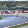 Masszív káosz a Moto2-esek gyakorlásán