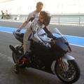 Tesztelnek a Superbike-os srácok