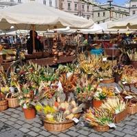 Húsvéti vásár Krakkóban