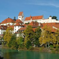 Füssen: a vár és a kolostor