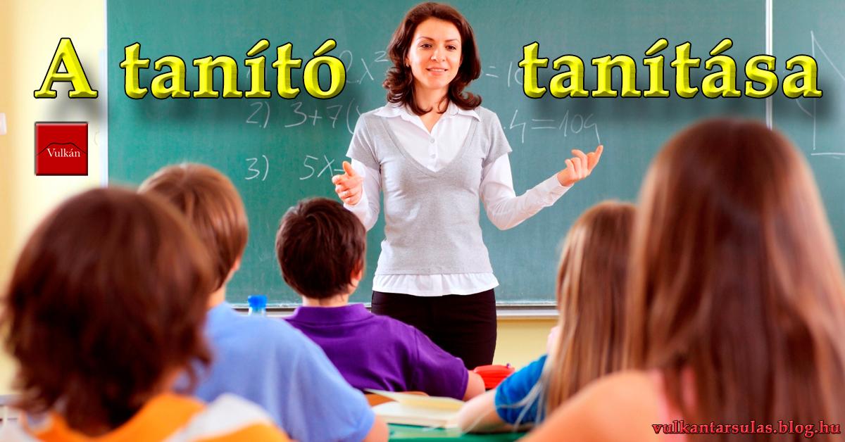 A tanító tanítása