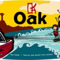 Oak wakeskates