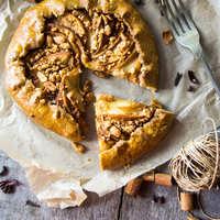 Almás-mogyorós galette diétásan