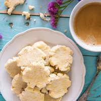 Gyors vaníliás kókuszkeksz (cukormentes, tejmentes, gluténmentes)
