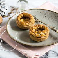 Isteni mini almás piték (Teljes kiőrlésű, cukormentes)