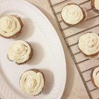 Répatorta muffin citromos mascarpone krémmel