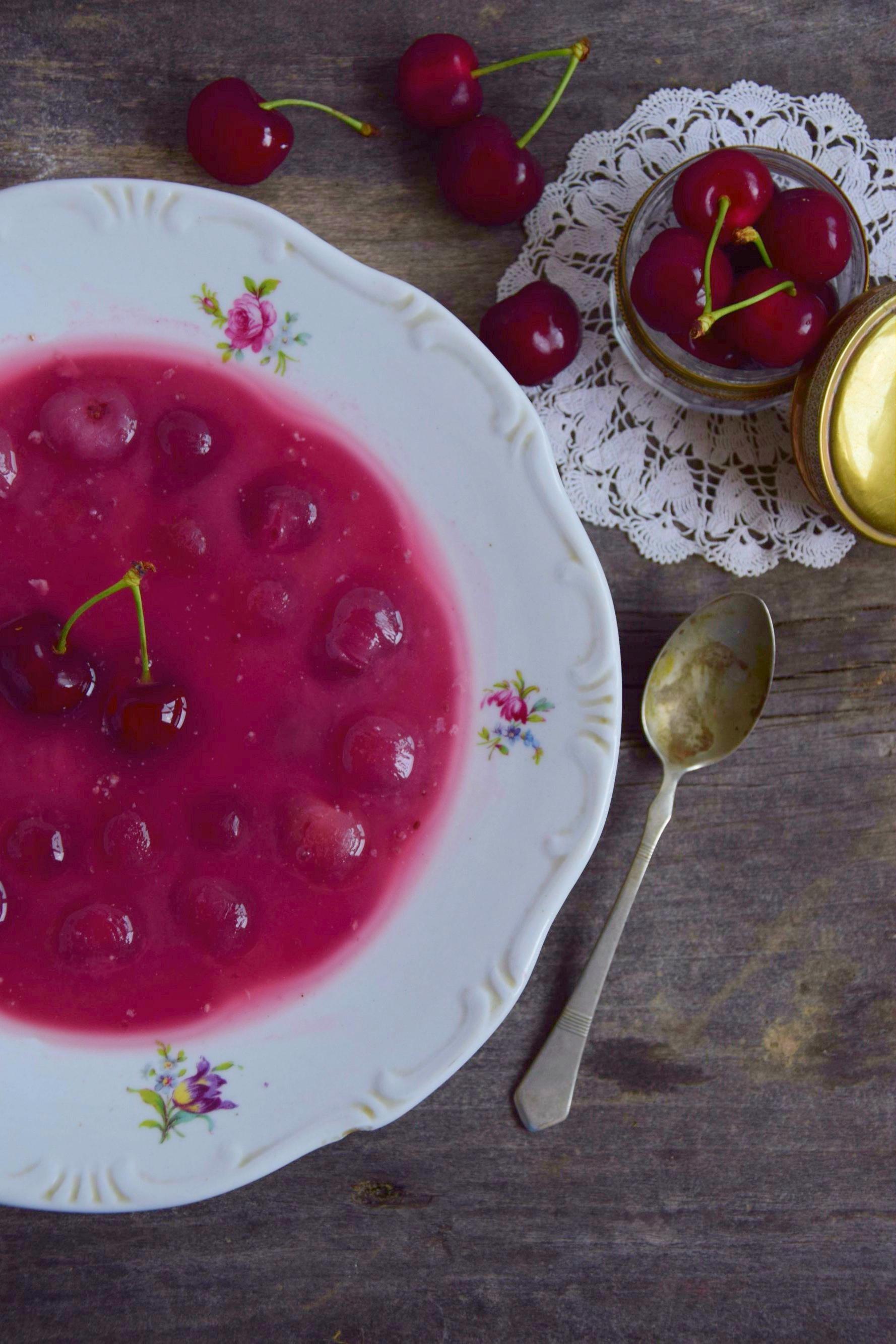 Chia magos cseresznyeleves tej-, liszt-, és cukormentesen
