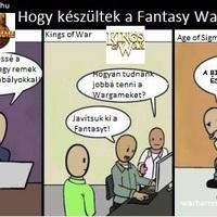 Hogyan készültek a Fantasy Wargamek?