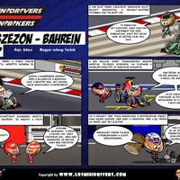 Los MiniDrivers magyarul: Előszezon, Bahrein, 2. menet