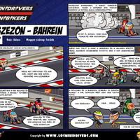 Los MiniDrivers magyarul: Előszezon, 2. állomás - Bahrein
