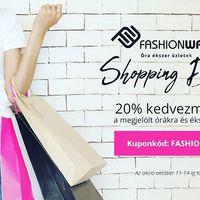 Shopping Days a Fashionwatchnál! Várunk! #shopping #fashionwatch #musthave #ekszer #ora #kedvezmeny #fashionwatchhungary #webshop