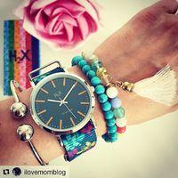 A H2X órák legújabb kollekciója már kapható a Fashionwatch üzleteiben a Teréz körúton és a Campona-ban. Az I Love Mom bloggere Goike Nóri beleszeretett a virágos mintákba. #fashionwatch #musthave #ekszer #ora #flower #h2xwatches #holiday #summer2018 #trend2018 @ilovemomblog