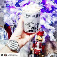 Voila Mode bloggerének is nagy meglepetést okozott a Jean Paul Gaultier óra!  Csak nálunk találhatod meg. #fashionwatchhungary #jeanpaulgaultierwatches #shopping #xmas #jewellery #watch #ora #ekszer