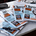Magyarországon a Chronos, a vezető német luxusóra-magazin