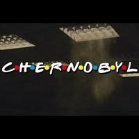 A Csernobil a Jóbarátok főcímével...